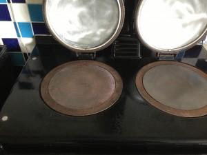 AGA Hotplate Clean