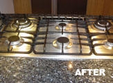 Hob After Pro Oven Cleaning